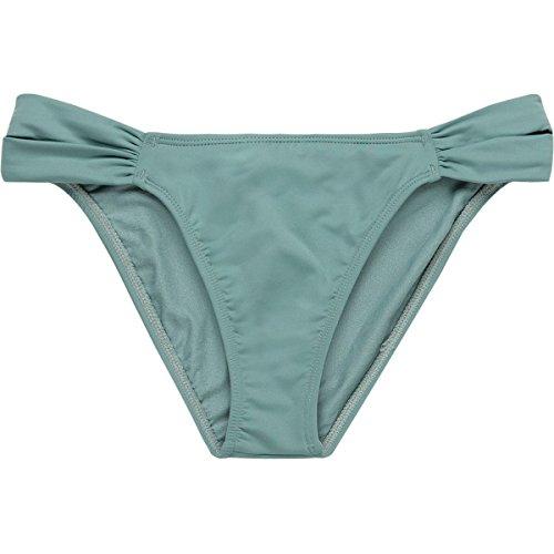 O'NEILL Women's Salt Water Solids Tab Side Bikini Bottom, Aqua Haze, S