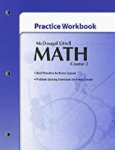 McDougal Littell Math Course 2: Practice Workbook