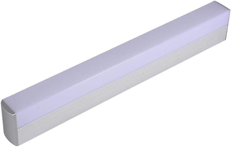Mkxiaowei Modernes Badezimmer Schrank Waschbecken LED Licht 25cm12w 40cm16w 55cm22w 85-265v weien Acryl Frontspiegel Bad Lampe Wandleuchte wasserdicht