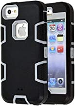 5C Case, iPhone 5C Case Cover, Magicsky Full Body Hybrid Impact Shockproof Defender Case..