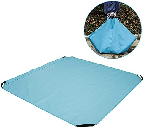 Max 67% OFF Panonw Waste Tarp Max 53% OFF Container Reusable Yard Leaf Bag,He