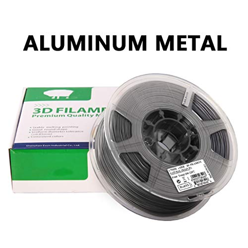 Hello PLA filament, 1.75mm 3D printing filament, PLA metal aluminum filament, used in 3D printer