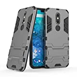 Nokia 7.1 Hülle, FoneExpert® Handy hülle Abdeckung Cover Etui schutzhülle Tough Strong Rugged Shockproof Heavy Duty Handy Tasche Für Nokia 7.1 / Nokia 7 2018