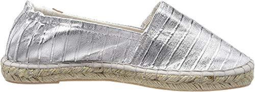 Tamaris Damen 24610 Espadrilles, Silber (Silver Struct.), 38 EU