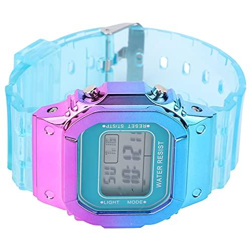 Reloj Digital, Reloj Electrónico Luminoso Para Uso Diario Para Niños