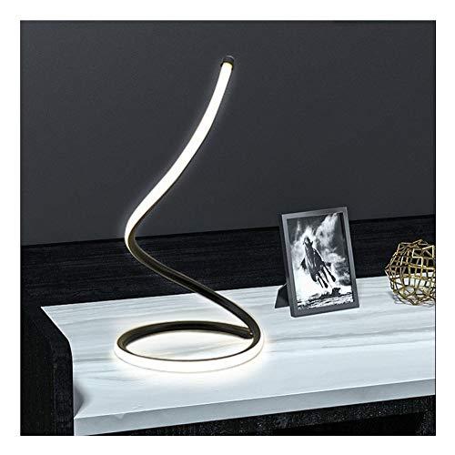 LAIDEPA Lámpara Industrial Serpentina Regulable De 3 Vías Lámpara De Noche LED De Artes Creativas Lámpara De Mesa Minimalista para La Vida del Dormitorio,Adjustable