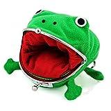JesseBro76 Cartoon Anime Wallet Green Frog Purse Mini Cute Cartoon Wallet Simple Green