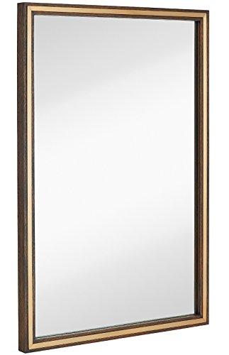 Walnut Glass Mirror - 2