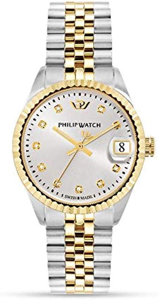 Philip watch orologio da donna in acciaio inossidabile analogico R8253597526