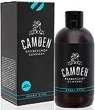 Shampoo da Barba 2 in 1 di Camden Barbershop Company ● prodotto nel regno unito ● Detergente per Barba e Viso con Ingredienti Naturali ● Fragranza Fresca ● Senza Profumo ● 250 ml
