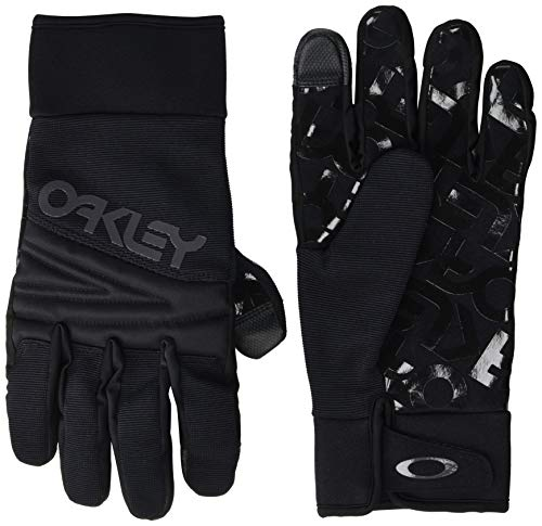 Oakley Herren 94308-02E-L Gloves, Blackout, L