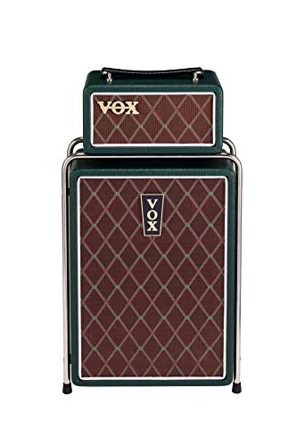 VOX Mini Superbeetle MSB25 BRG, E-Gitarrentopteil und 25W Box, Amp-Stack mit 10