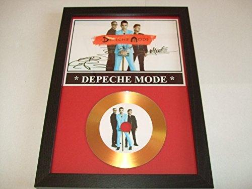 Depeche Mode unterzeichnet Gold Disc