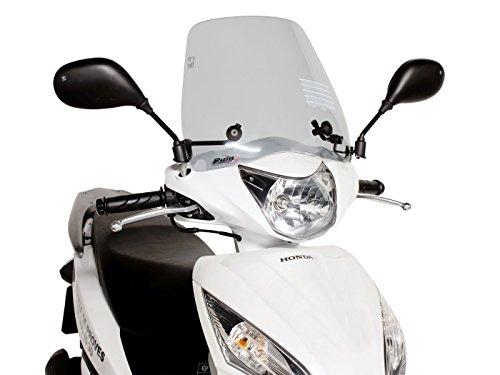Windschild Puig Trafic smoke für Honda Vision 110 NSC110 JF31 2011-