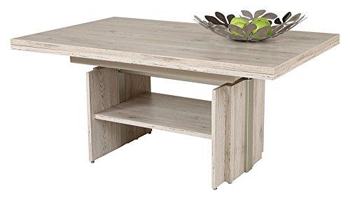 Hela Tische GmbH Couchtisch Wohnzimmertisch Tisch Jerome höhenverstellbar ausziehbar Sandeiche