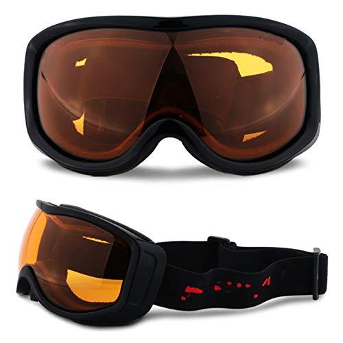 Exterior Gafas de esquí para snowboard para adultos Anti-niebla UV400 Ski Snow Gafas de sol Sol de la nieve Electroplating Cross-Couther Motorcycle Glasses Casco Mask Mascarilla Hombres y mujeres para