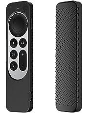 Accessoires voor afstandsbediening Schokbestendige siliconen hoes voor afstandsbediening Compatibel voor 2021 Apple TV 4K-accessoires voor afstandsbediening Antislip streep beschermhoes