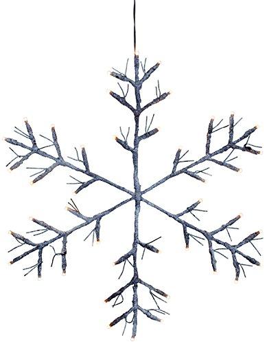 Star 860–93 lumière décorative, plastique, Marron, 52 x 1 x 52 cm