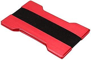 Credit Card Holder Men Metal Wallet Credit Card Holder Aluminum Blocking Travel Wallet
