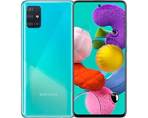 Celular Samsung Galaxy A51 128Gb Câmera Quádrupla 48Mp + 12Mp + 5Mp + 5Mp - Azul