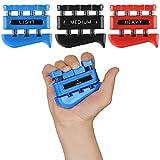 3 Pack Finger Strengthener - Finger Exerciser for Forearm and...