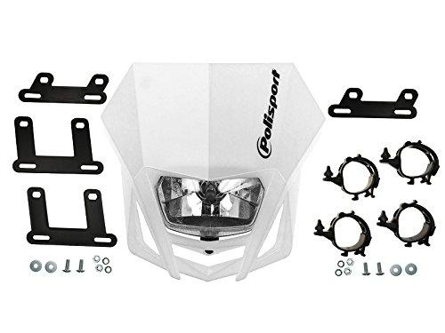 Scheinwerfer-Maske Polisport LMX weiß, EAN: 5604415036705