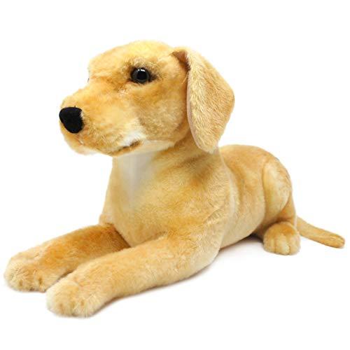 Mason The Labrador - New Improved Design - 17 Inch Large Labrador Dog Stuffed Animal Plush - by Tiger Tale Toys