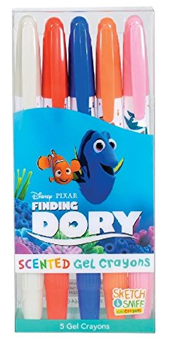 Scented Disney Finding Dory Gel Crayons Set of 5