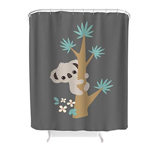 Vrnceit dier artistieke effect afbeelding waterdicht fris Home Universal met haak voor staanders en badkuipen afneembare bekleding polyester