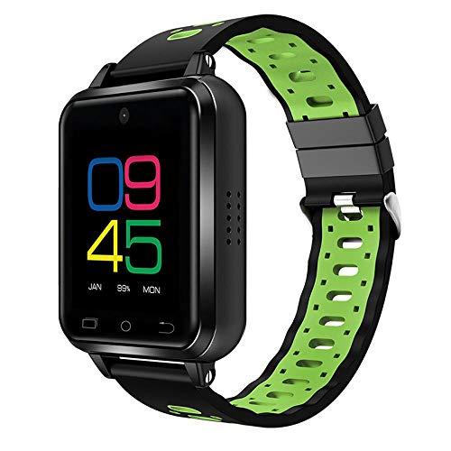 QXbecky Reloj InteligenteFDD LTE 4Gactualizado1GB / 16GB MTK6737Quad Core1.54'Reloj de Pulsera Teléfono720 mAh Android 6.0Monitor deRitmocardíaco Verde