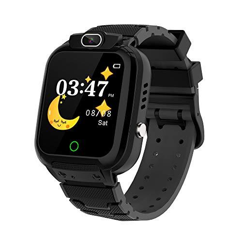 Winnes Smartwatch für Kinder, wasserdicht, Musik, Kamera, Spiele, Taschenrechner, Touchscreen, Geburtstagsgeschenk für Kinder von 3 bis 12 Mädchen