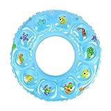 Gcxzb Schwimmreifen Bool aufblasbarer Ring Schwimmen Ring Schwimmen Ring Kreis blau Cartoon Junge mädchen kreative Schwimmen Ring Float Sitz Baby (Size : 80)