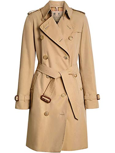 Luxury Fashion | Burberry Dames 4073373 Beige Katoen Trenchcoats | Lente-zomer 20