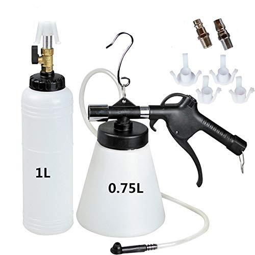 QUNNIE Dispositivo ad Aria compressa per Spurgo Freni, spurgo Freni ad Aria compressa Kit,con Bottiglia di R