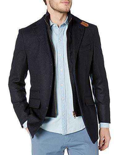 Kroon Men's W33070 Ritchie Aim Stretch Sportcoat Blazer, Navy, 42 Regular