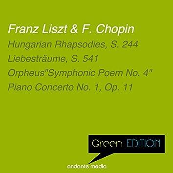 "Green Edition - Liszt & Chopin: Orpheus ""Symphonic Poem No. 4"" & Piano Concerto No. 1, Op. 11"
