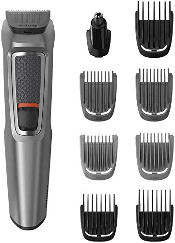 Philips 9-in-1 All-In-One Trimmer, Series 3000 Grooming Kit for Beard &...