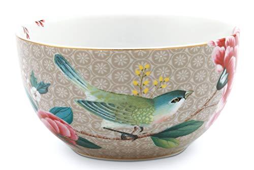 Pip Studio Schale Blushing Birds | khaki - 12 cm