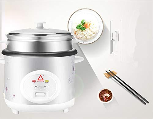 Rijstkoker met antiaanbaklaag, binnenpan, automatische groenten, 3 liter, 4 liter, 5 liter, bestand tegen hoge temperaturen, rijstdampkoken voor gezonde levensmiddelen, eenvoudige reiniging 4l
