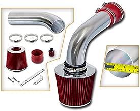 Rtunes Racing Cold Air Intake Kit + Filter Combo RED Compatible For 92-94 Volkswagen Corrado SLC 2.8L V6 / 93-98 Volkswagen Jetta GLX, 2.8I VR6 V6