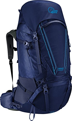 Lowe Alpine Damen Rucksack Diran ND55:65, Sea Blue, 71 x 36 x 29 cm