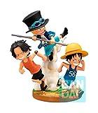 Banpresto -BP16000 Actionfigur, One Piece, Bonds of Brothers, Sabo Luffy und Ace, Mehrfarbig (Bandai BP16000)