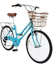 دراجة سبارتان سيتي باللون الازرق، 61 سم