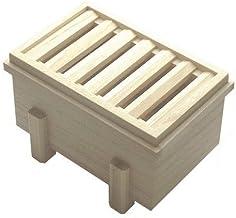 桐製 お賽銭箱型の貯金箱(小)