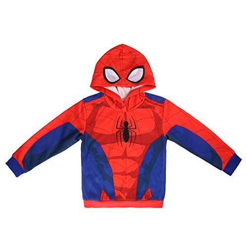Spiderman S0710707 Sweater, Rojo, 5 Unisex-Child