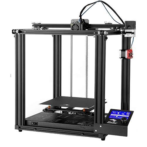 L-SLWI 3D Printer Ender-5 Pro with Silent Mainboard Pre-installed,Capricorn Tube, Metal Exruder,220 * 220 * 300mm Build Volume, Removable Platform
