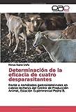 Determinación de la eficacia de cuatro desparasitantes: frente a nemátodos gastrointestinales en cabras lecheras del Centro de Producción Animal, Estación Experimental Pedro B.