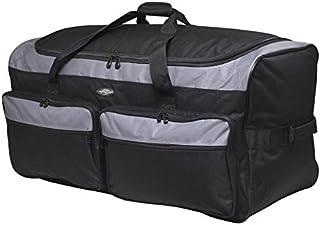 "Travelers Club 36"" X-Large Expandable Triple Wheeled Rolling Duffel Luggage, Black (Black) - 83036-001"