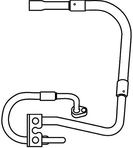BEHR HELLA SERVICE 9GS 351 337-281 *** PREMIUM LINE *** Hochdruckleitung, Klimaanlage, von Klimakompressor nach Kondensator