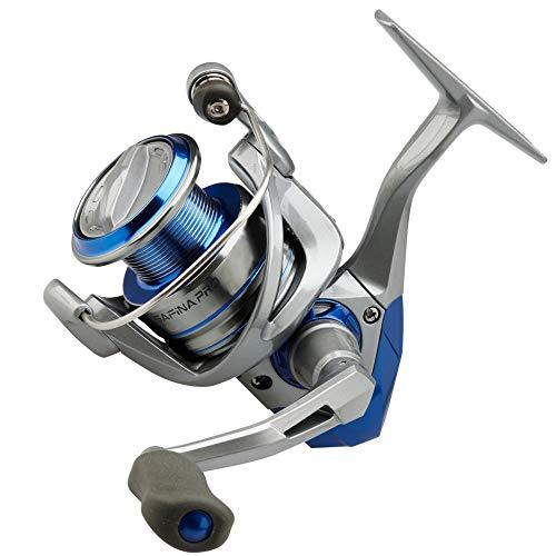 Okuma Carrete de pesca Safina Pro SNP 3000 FD para trucha de mar y bacalao, carrete de mar para pesca spinning, carrete estacionario para pesca marina con cebo artificial